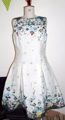 fairy tale dress bobbins and buttons