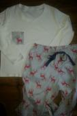 ladies pjs bobbins and buttons