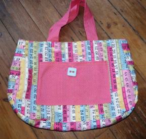 project bag Bobbins and buttons