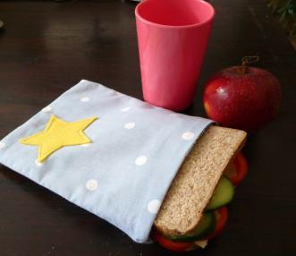 sandwich bag Bobbins and buttons
