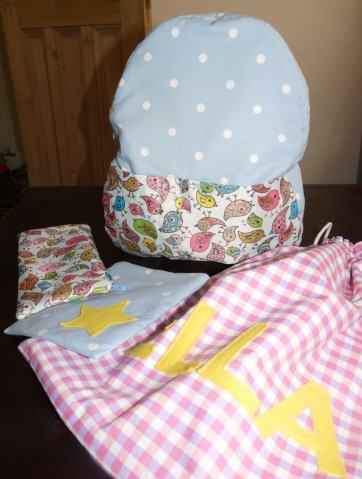 school bags Bobbins and buttons
