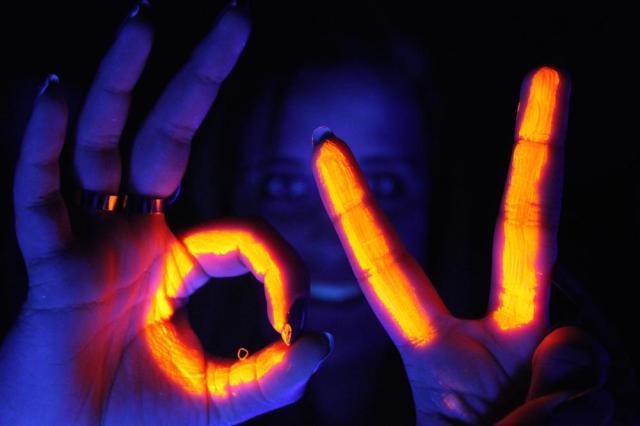 Neon UV Party Disco DJ Hire Glasgow