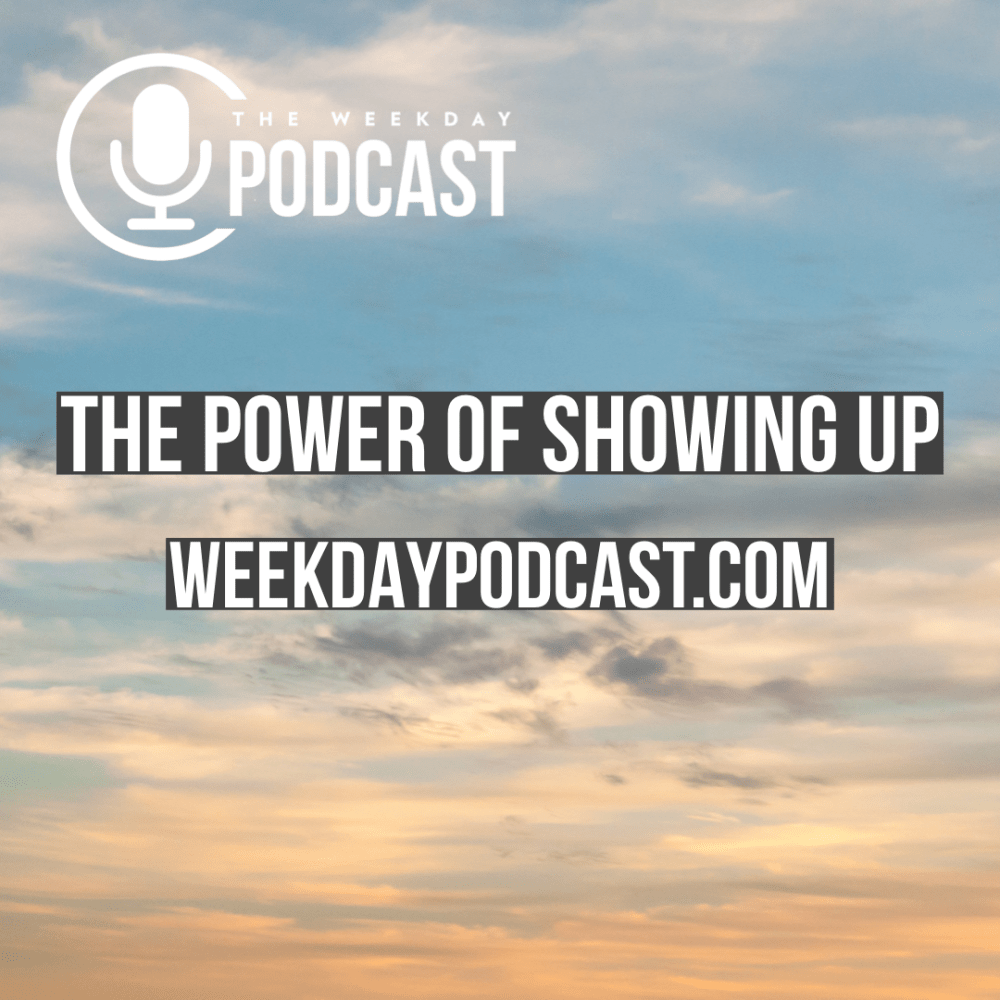 The Power of Showing Up Image