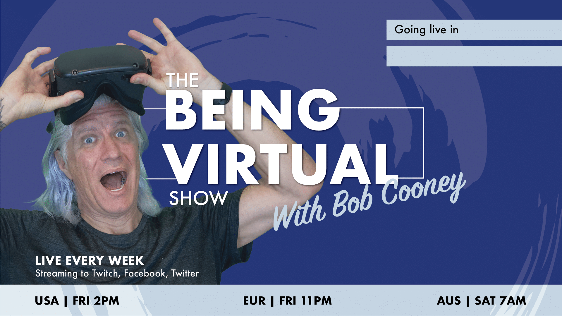 The Being Virtual Show with Bob Cooney