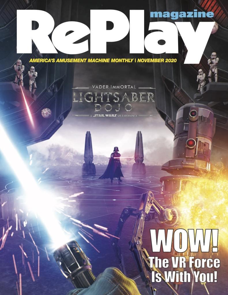 Replay Magazine Star Wars VR