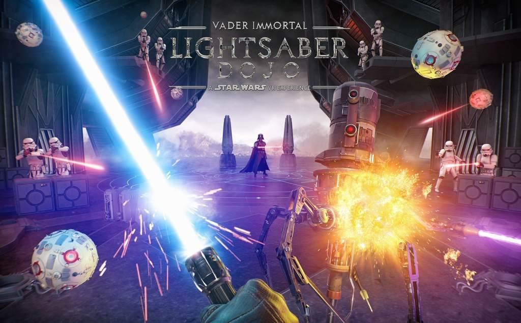 Star Wars Lightsaber VR Game