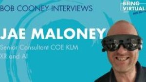 Jae Maloney KLM Enterprise VR
