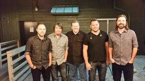 Bob Dutko with 'Third Day' Backstage at The DTE Energy Theatre