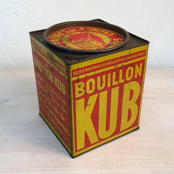 scatola KUB in latta Bobeche