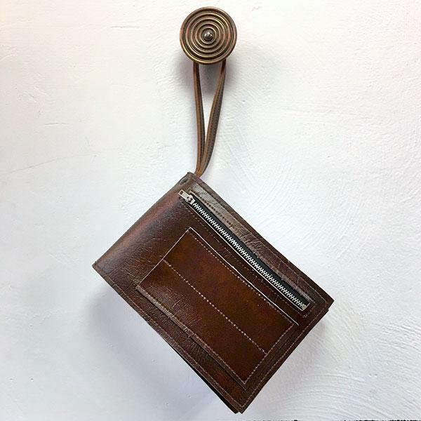 borsello vintage da uomo in cuoio Bobeche accessori moda