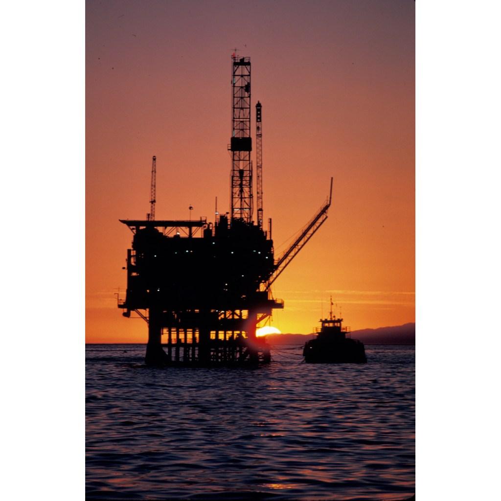Platform Holly, offshore oil platform, santa barbara channel