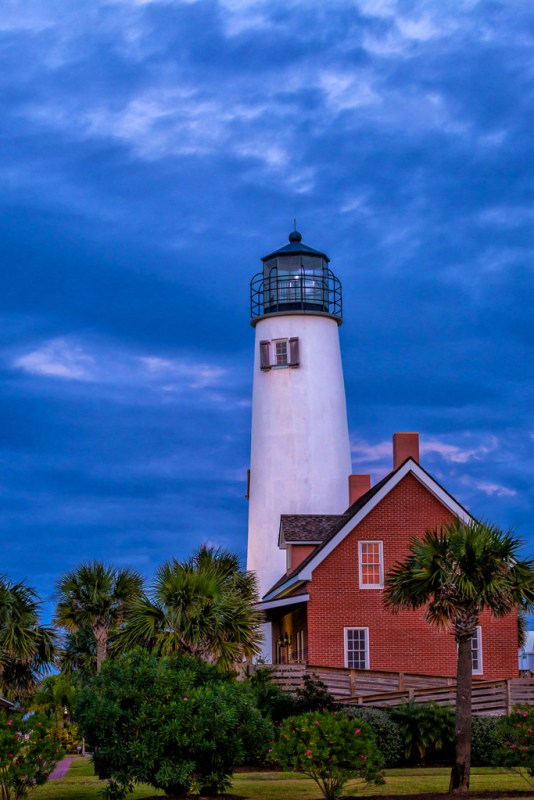 Cape St. George Lighthouse, St. George Island, FloridaCanon 5D Mk II, 70mm, 1/20 sec, f/8