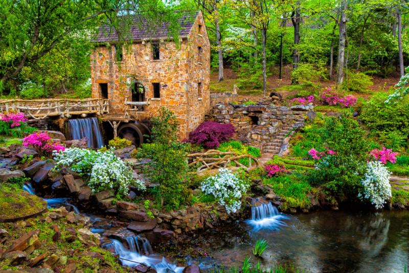 10106. The Old Mill, North Little Rock, Arkansas