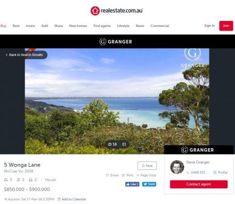 Sea view Melbourne