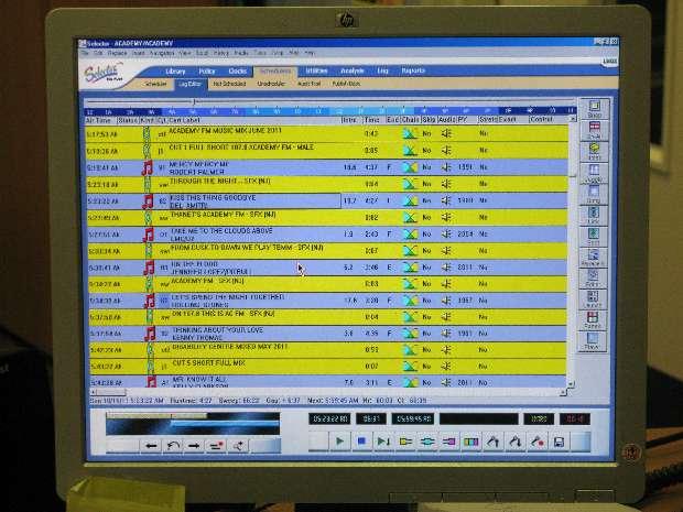 Radio Station Control Board