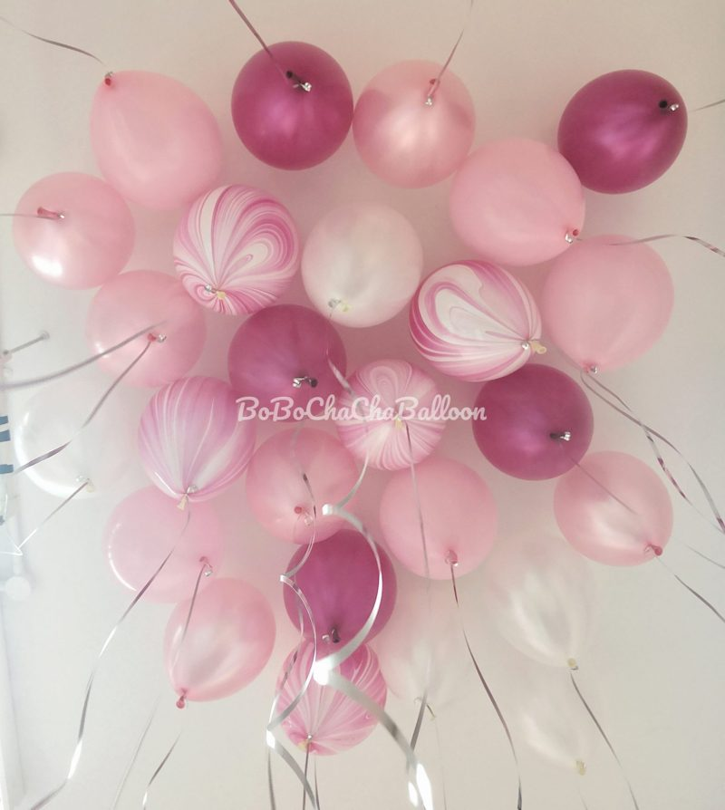 12 inch Latex Balloon – Metallic / Pearl Colors (Helium Inflated)