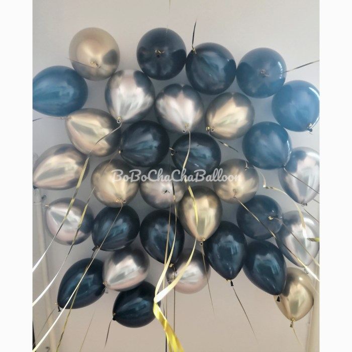 11 Inch Chrome Latex Balloon (Flat Packaging)