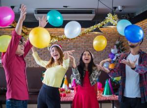 Helium Birthday Balloons, Party Balloons