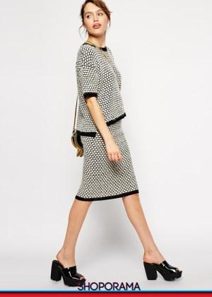 Asos,coordinato,shoporama.it, shopping,lana,bouclè,tricot,jaquard,
