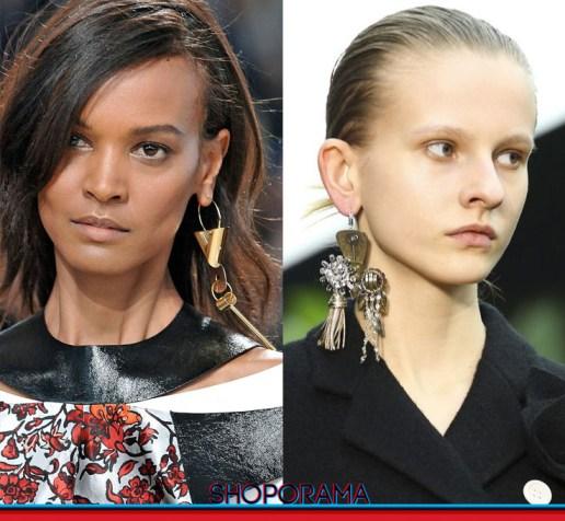 Louis Vuitton -  Céline mono orecchino, earring