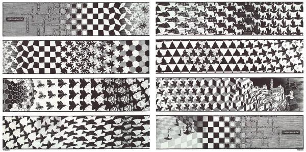 Metamorphose, woodcuts 1939-40, 1967-68