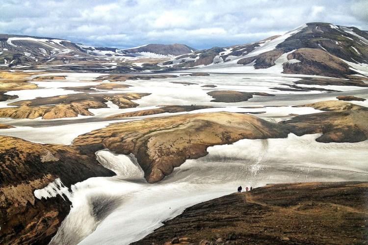 Hiking Islanda