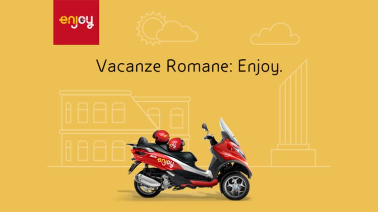 Scooter sharing – Enjoy Roma