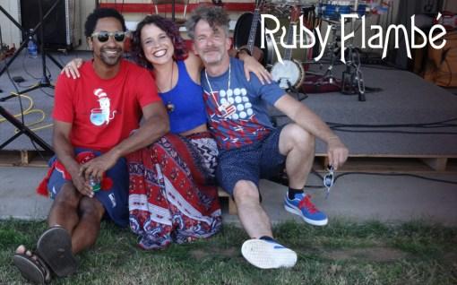 Ruby Flambé Bailey Anne Martinet + Bob Bob Paltrow Music Web Slide Banner 3