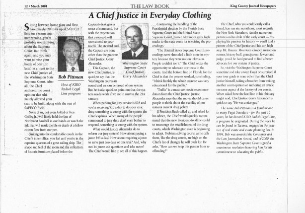 Chief Justice Article