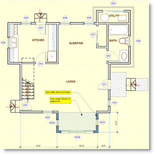 ArchiCAD Tutorial Remodels And Additions In ArchiCAD ArchiCAD Tutorials Eric Bobrows Blog