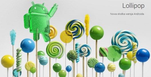 Android 5 Lollipop (źródło: android.com)