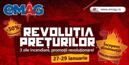 Revolutia Preturilor la eMAG!