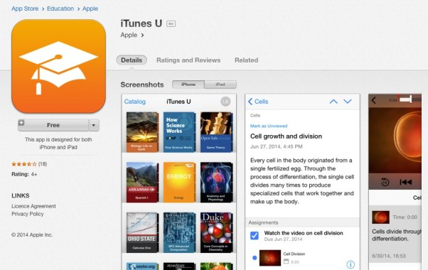 itunesu-free-courses