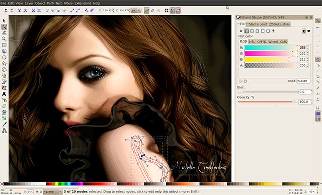 linux-inkscape