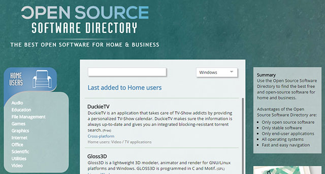 open-source-software-directory