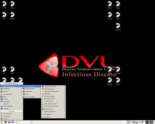 damn-vulnerable-linux