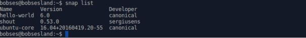 ubuntu-snap-list