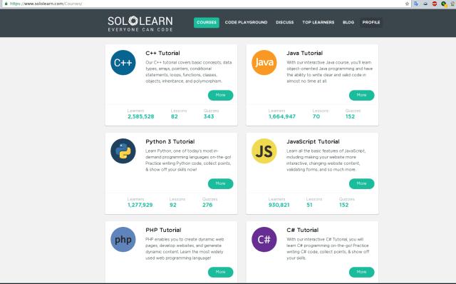 sololearn platform