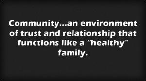 Communityan-environment
