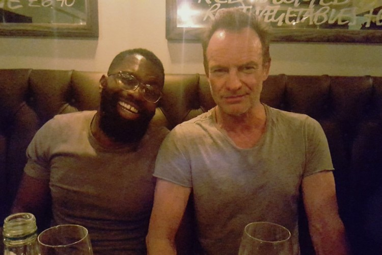 Bobso meets Sting