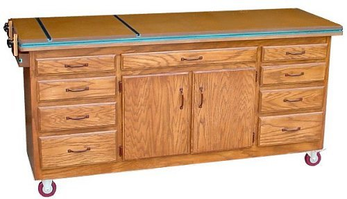 Download the complete 48 page plans for this Garage Workbench
