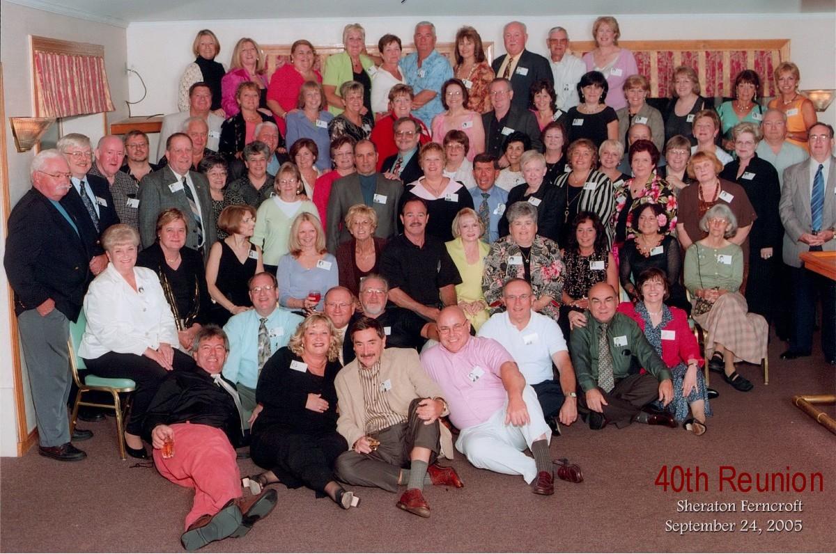 45th High School Reunions