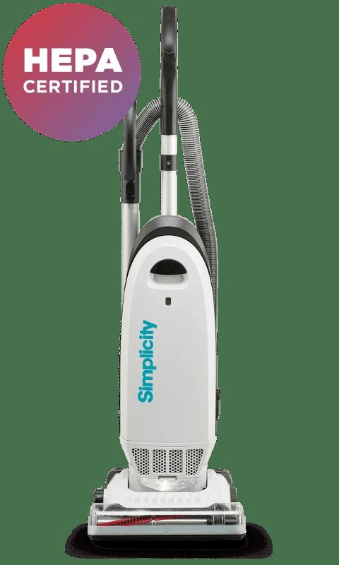 Allergy Upright with HEPA Media Bag Filter