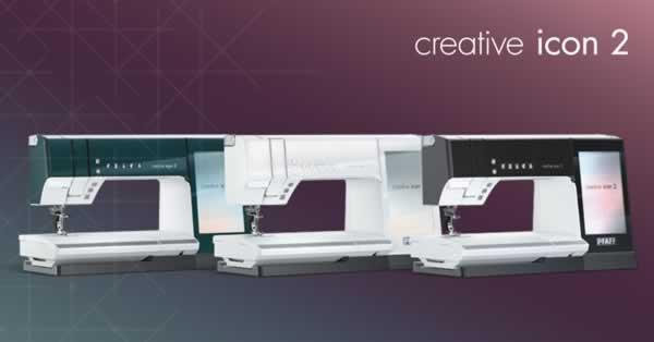 PFAFF Creative Icon 2 Sewing & Embroidery Machine