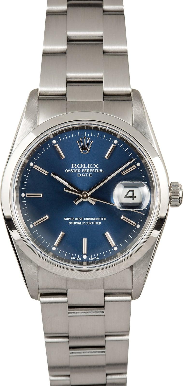 Used Mens Rolex Date 15200