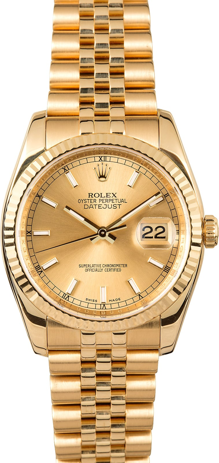 Mens Rolex Datejust 116238