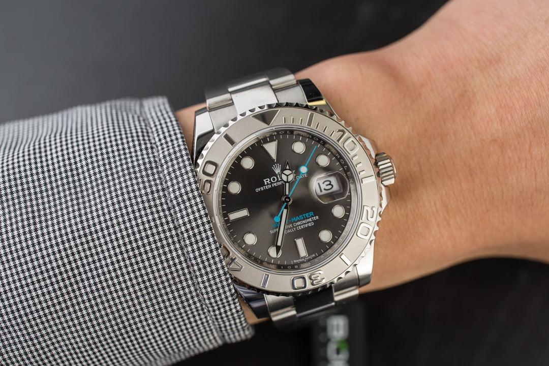 Rolex Yacht Master 116622 Dark Rhodium Dial