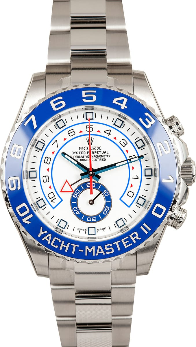 Rolex Yachtmaster II Ref 116680 At Bobs Watches