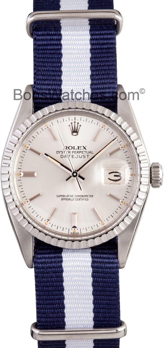 Rolex DateJust Save Up To 50 On Authentic Rolex At Bobs