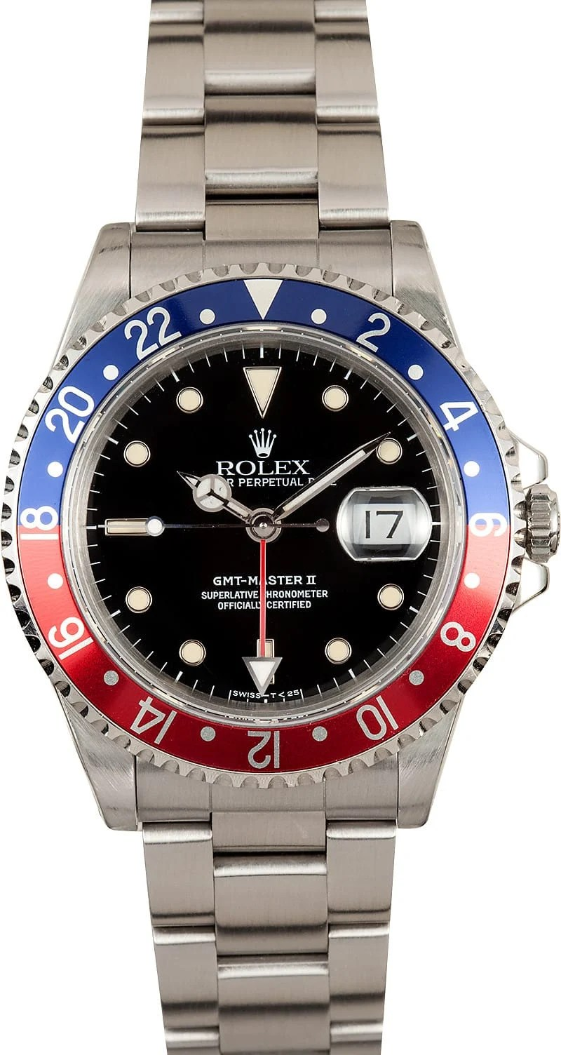 Pepsi Rolex GMT 16710 Buy It At Bobs Watches And Save